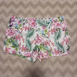 jcp floral shorts